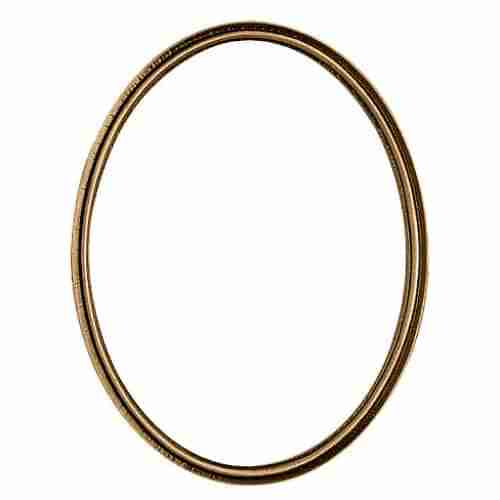 Bronze Double Rim Oval