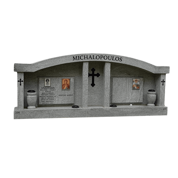 L17 Double Chapel Viscount white granite