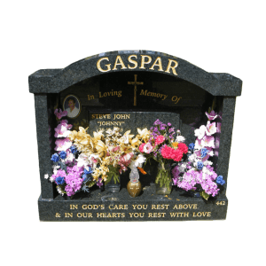 L17 Sady grey granite chapel