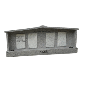 L19 Double chapel Mountain grey granite