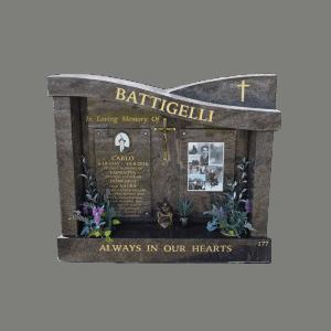 L27 Paradiso granite chapel